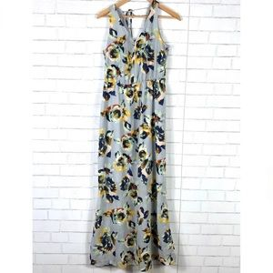 The Limited Floral Sleeveless Maxi Dress